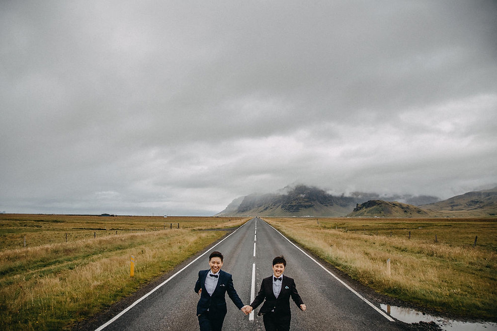 Same Sex Wedding in Iceland