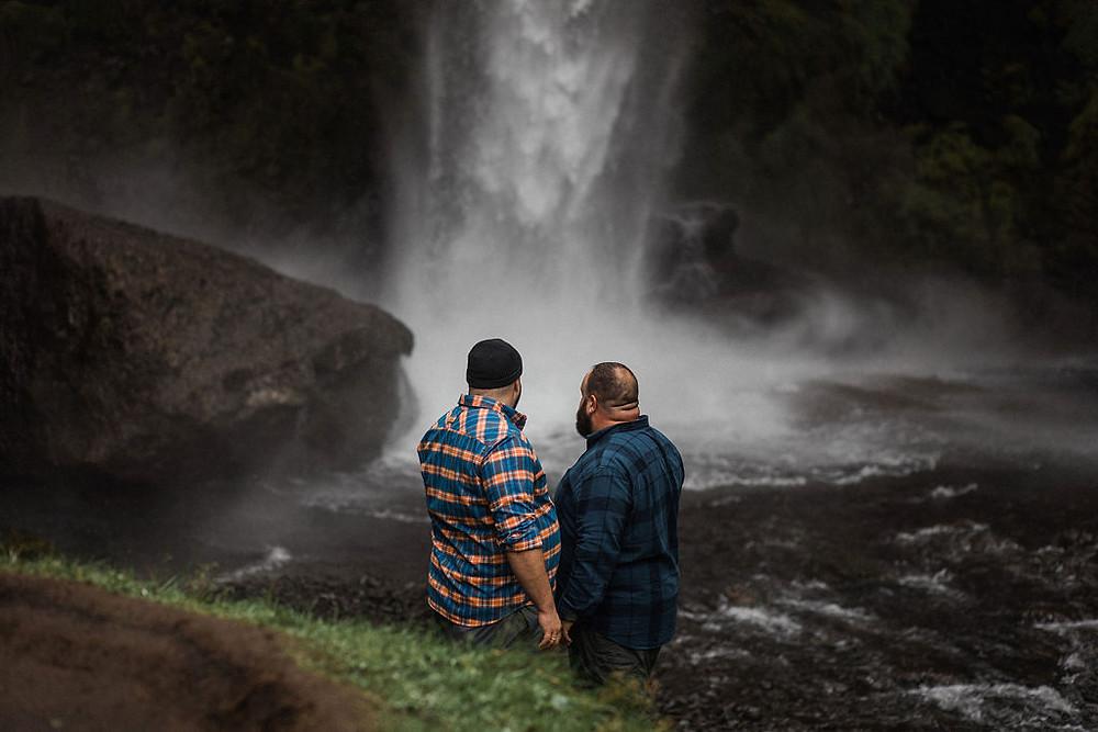 Iceland engagement photography