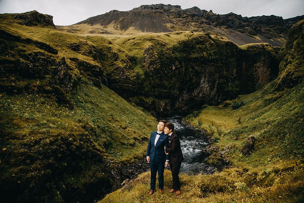 Same Sex Wedding in Iceland