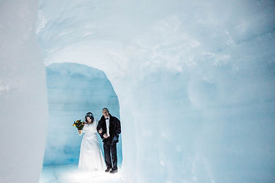 Get married INSIDE a glacier in Iceland