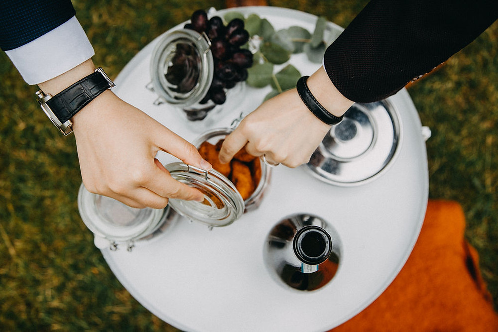 Iceland Wedding picnic
