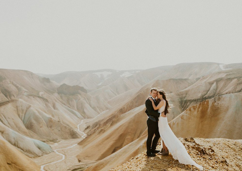 Landmannalaugar wedding