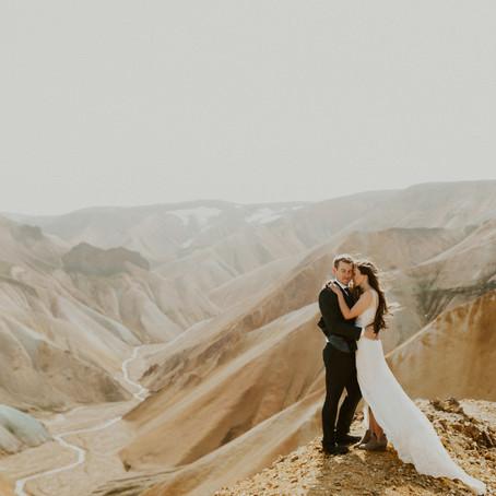 Landmannalaugar Wedding