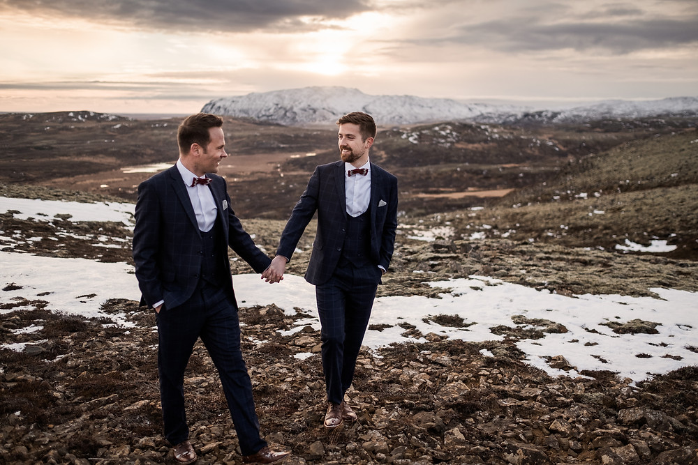 Gay wedding in Iceland