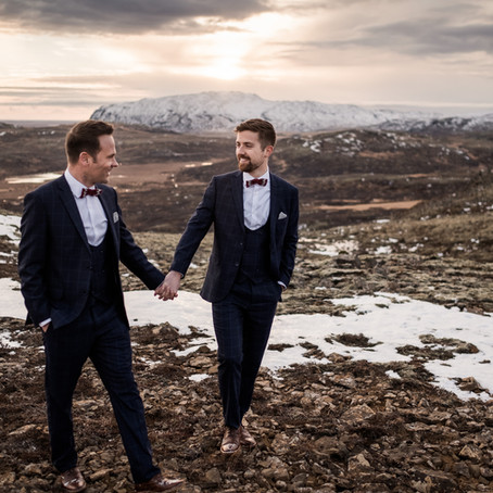 Matt & Matt's Iceland Wedding