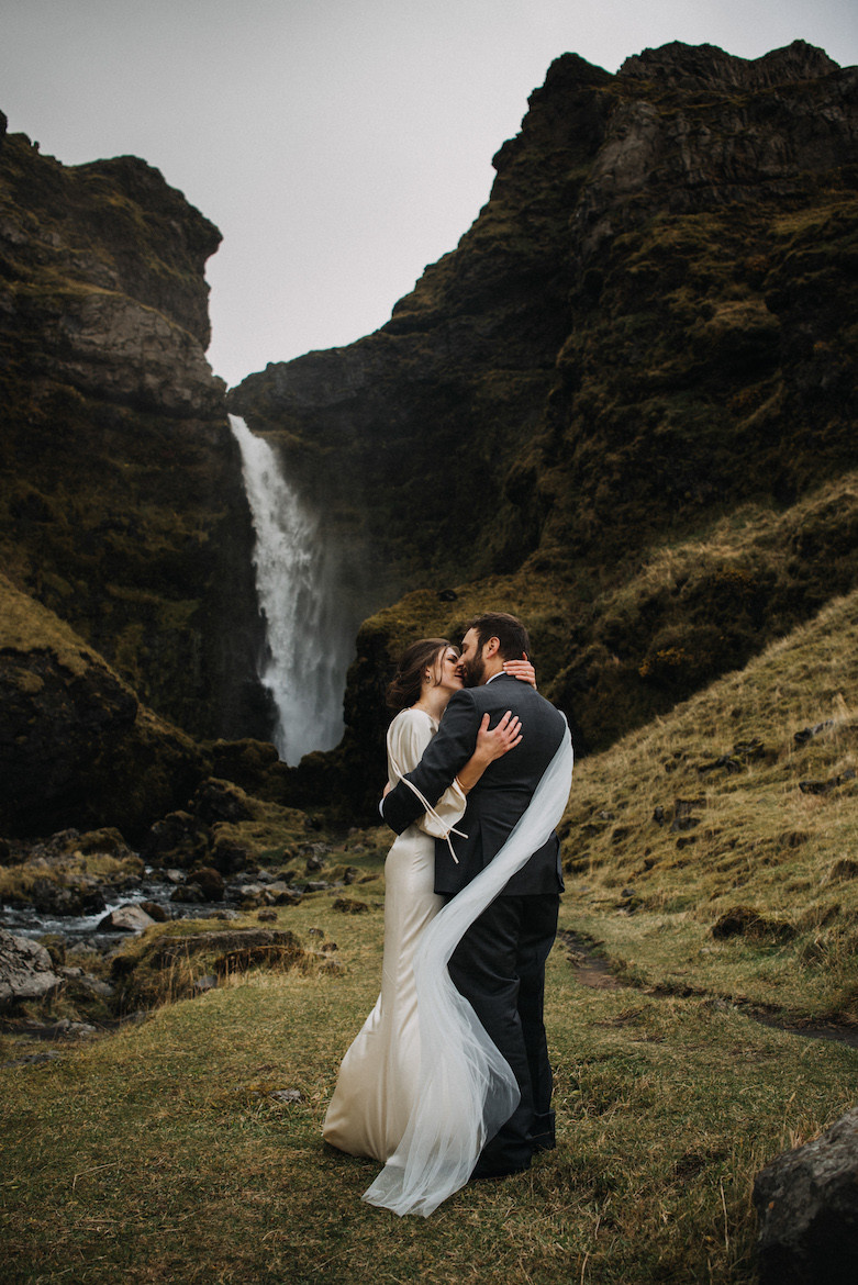 Wedding photo from Iceland by Kristina Petra, Pink Iceland's partner