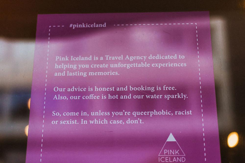 Pink Iceland office in Reykjavik