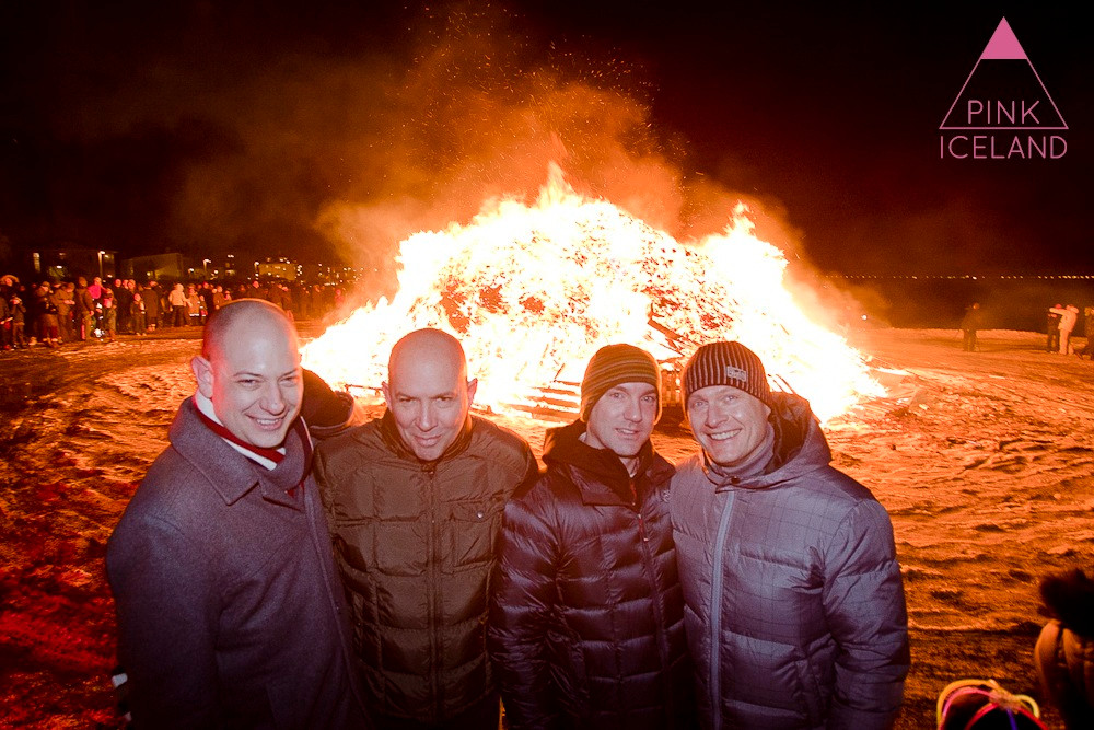 Gay New Years Eve tour in Reykjavik