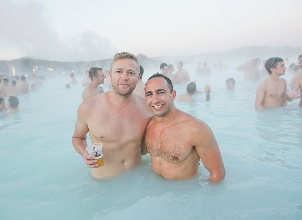 Gay tours to the Blue Lagoon for Reykjavik Pride