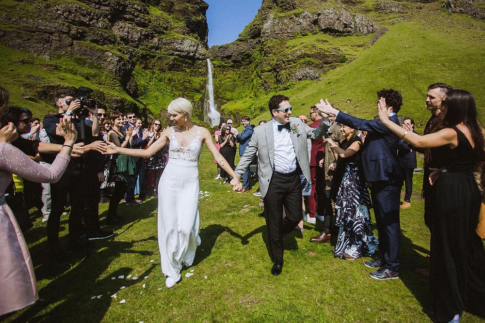 Summer Wedding in Iceland