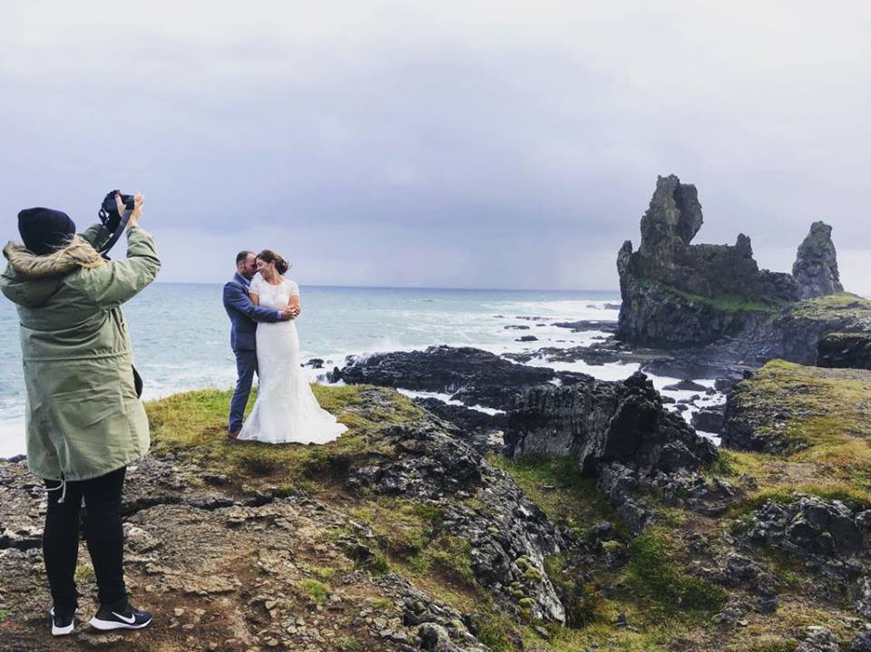 Iceland Wedding photographer Kristin Maria