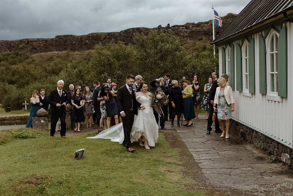 Thingvellir national park wedding