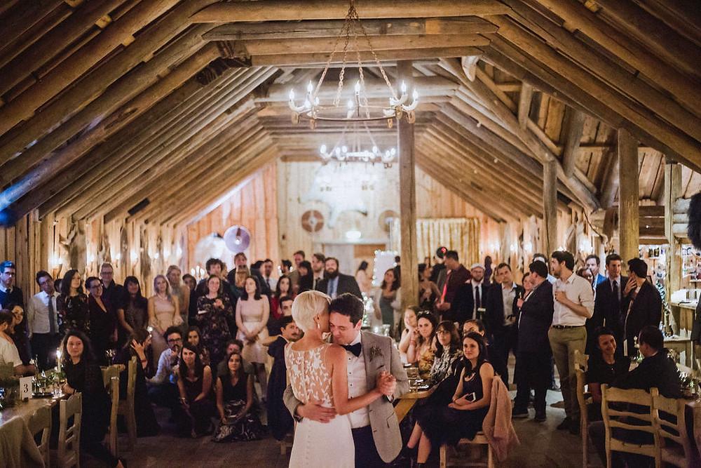 Iceland Wedding Reception in Viking Lodge