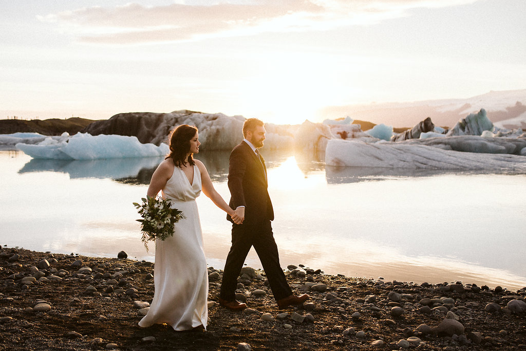 Pink-Iceland-wedding-in-Iceland-Kristin-