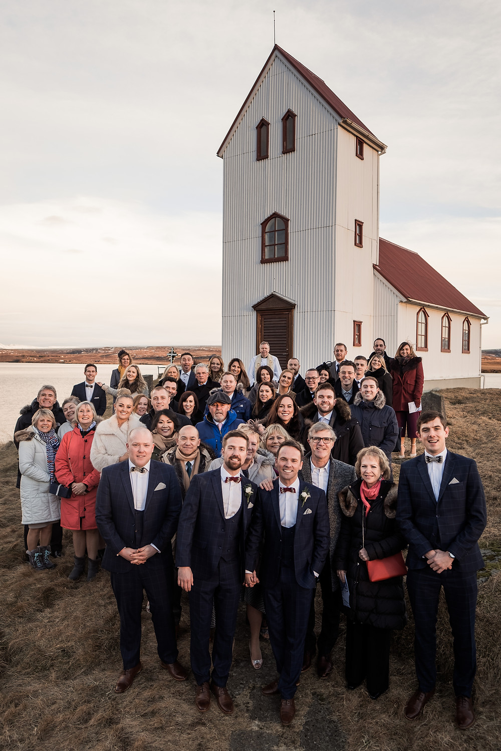 Same Sex marriage ceremony in Icelandic church