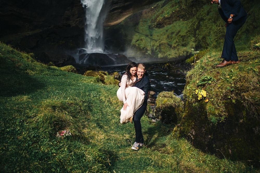 Pink Iceland Wedding planner Haffi