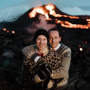 Volcano Wedding!