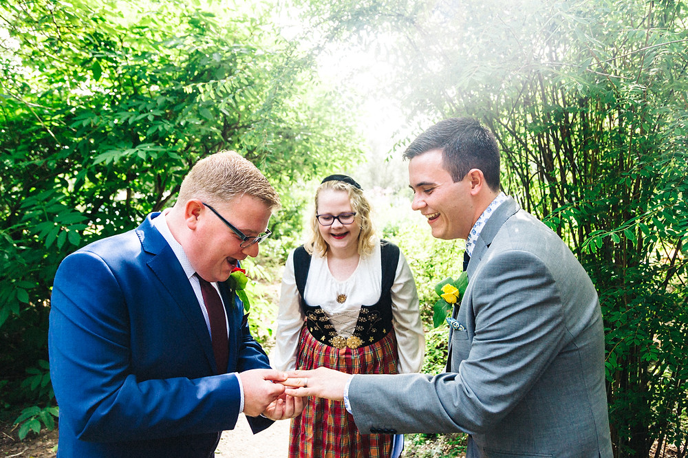 Iceland Elopement with a Humanist Wedding ceremony
