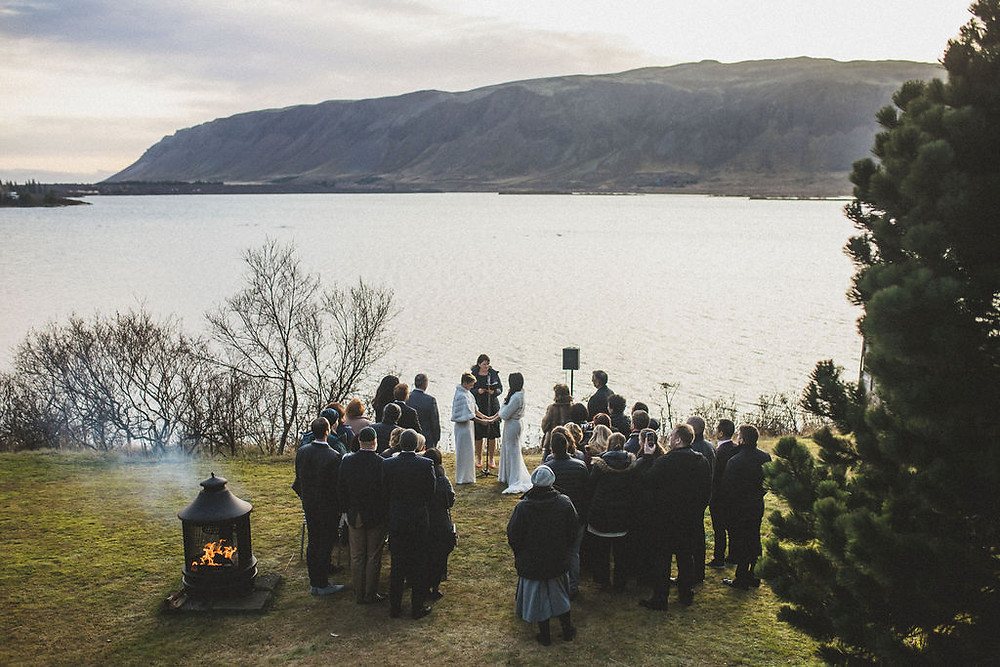 Same sex wedding in Iceland by Pink Iceland