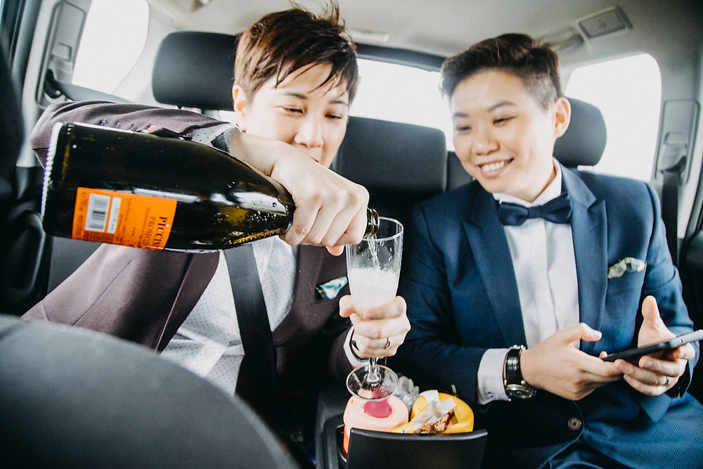 Same Sex Wedding ceremony in Iceland