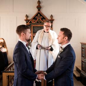 Wedding in Úlfljótsvatnskirkja & reception at Ion Adventure Hotel