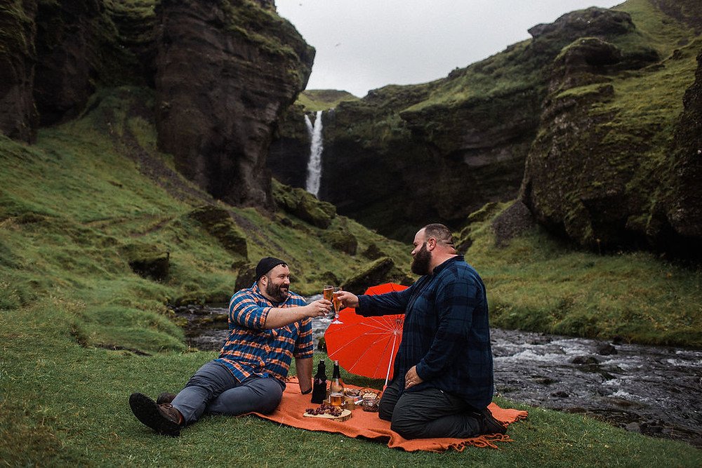 Propose in Iceland