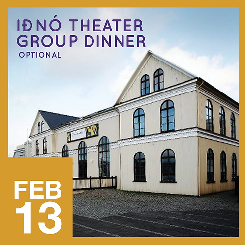Iðnó Theatre Group Dinner