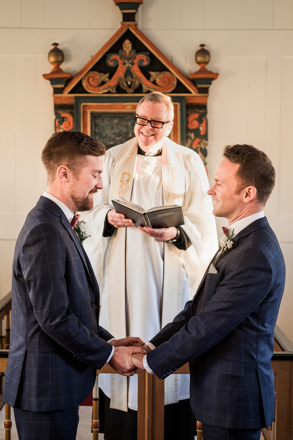 Gay Wedding ceremony in Iceland