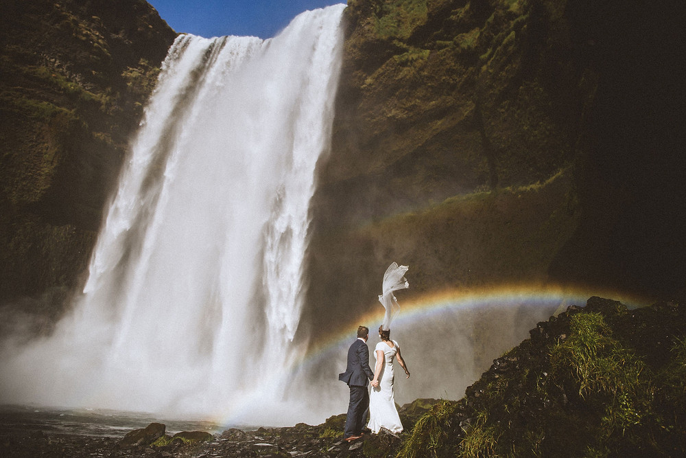 Iceland Wedding photo by Kristin Maria photographer