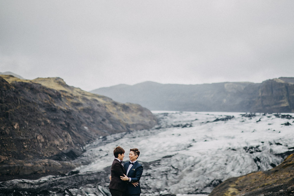 Iceland Lesbian wedding