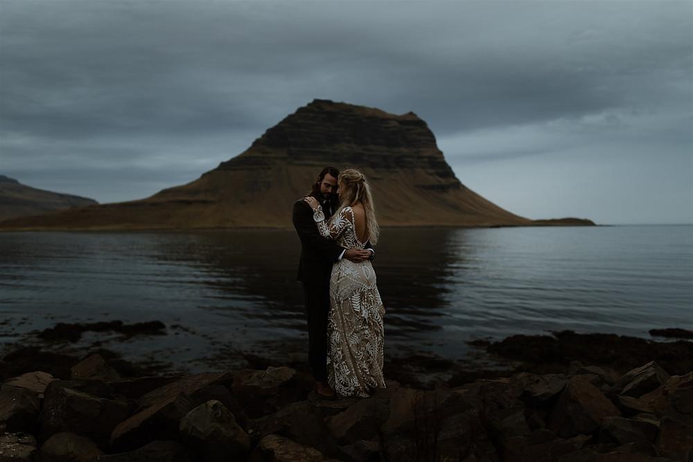 Snæfellsnes peninsula wedding photos