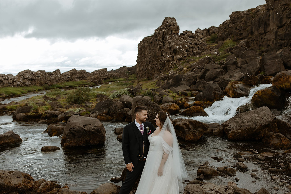 Iceland Wedding location Þingvellir