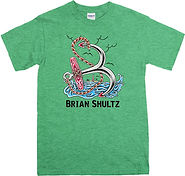 brian shultz anchor antique Irish Green.