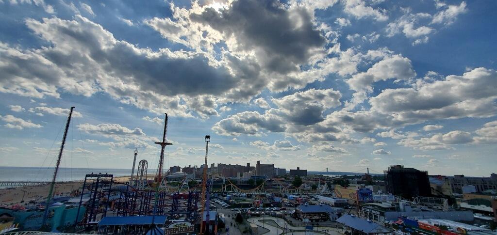 Coney Island sky