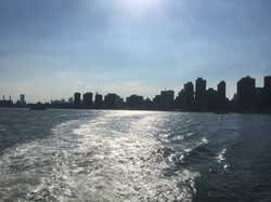 NYC from the water
