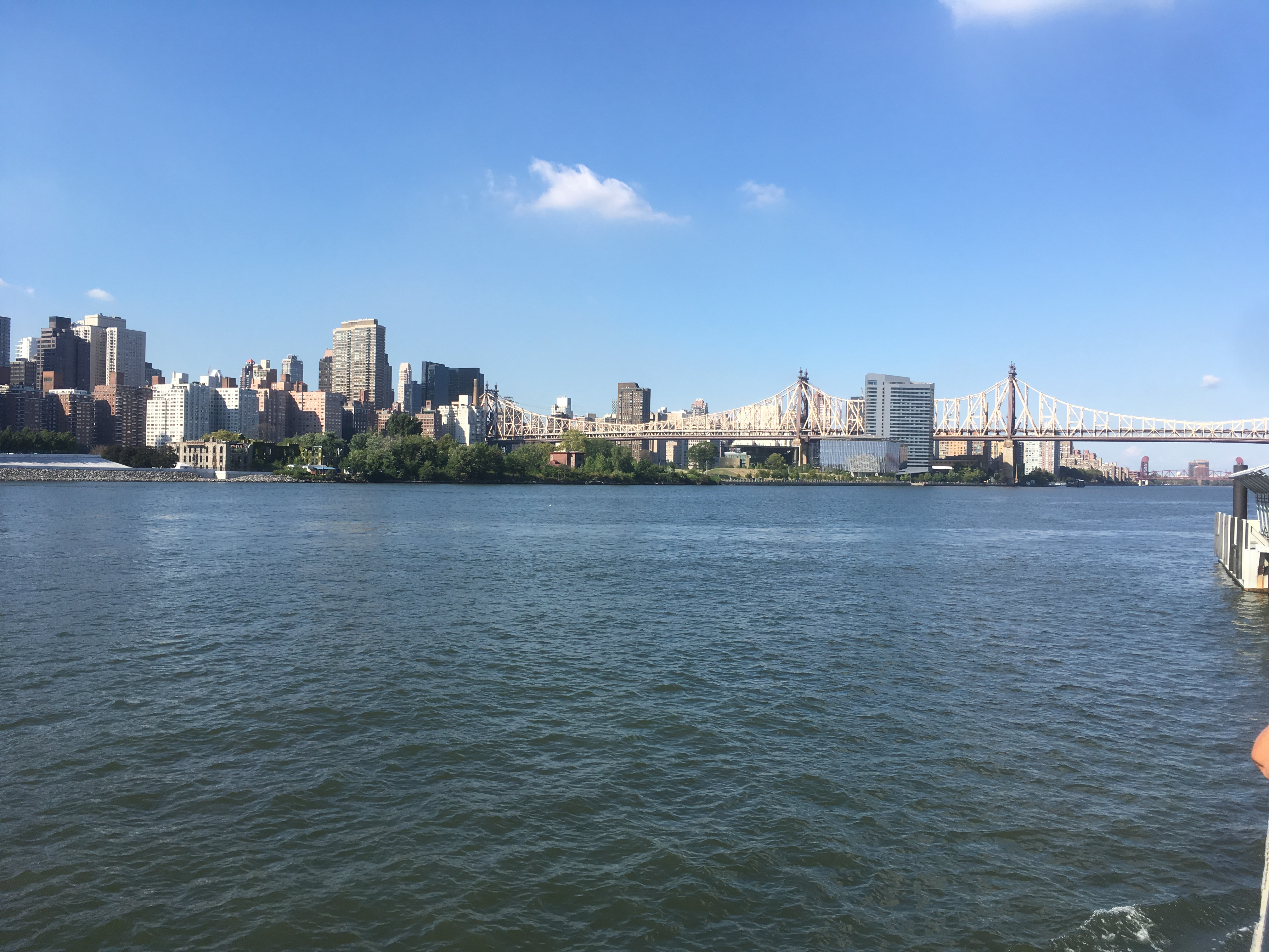 Roosevelt Island - Our destination