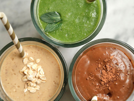 3 SPRING SMOOTHIES!
