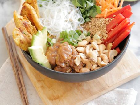 Spring Roll Salad Bowl