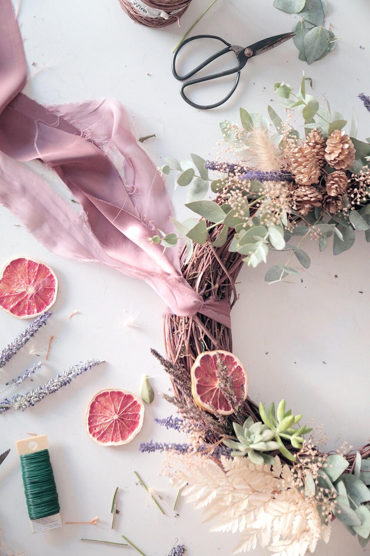 Non Traditional Christmas Wreath