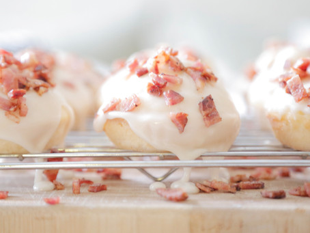 Maple Bacon Pancakes Muffins