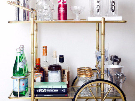 Bar Cart Styling Essentials