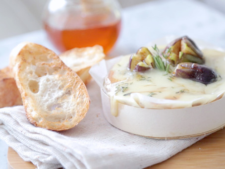 Baked Camembert with Honey Roasted Figs
