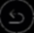 fléche blanche sur rond noir pour retour page acceuil