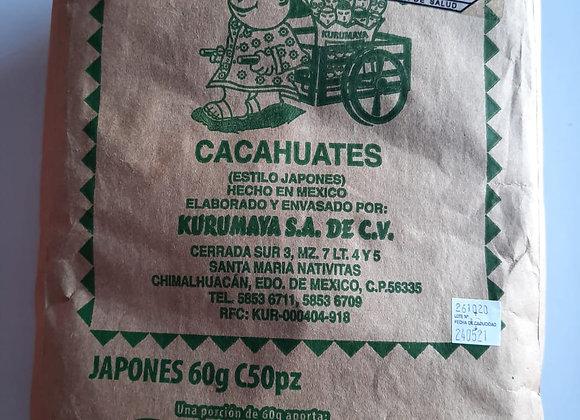 CACAH KURUMAYA JAPONES 60 GRS