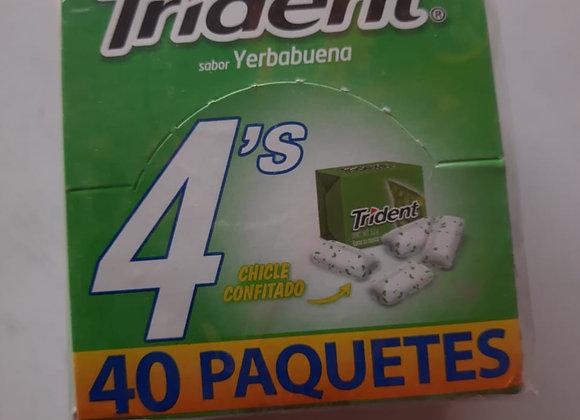 TRIDENT 4 S YERBABUENA