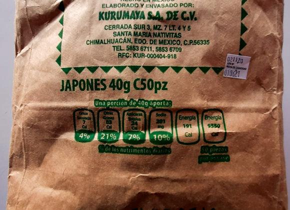 CACAH KURUMAYA JAPONES 40 GRS