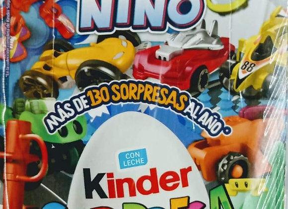 HUEVITO KINDER 8 PZS