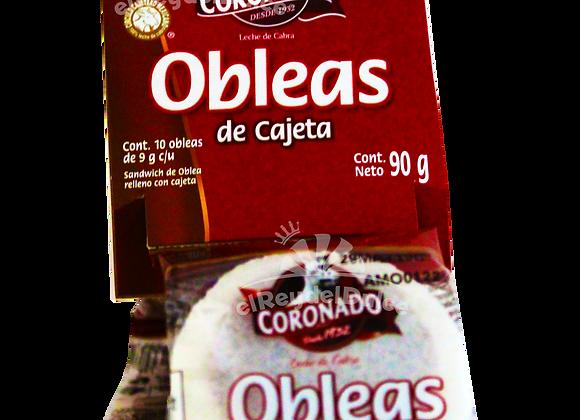 OBLEA CORONADO