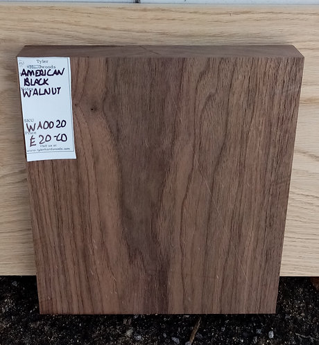 American Black Walnut Board WA0020