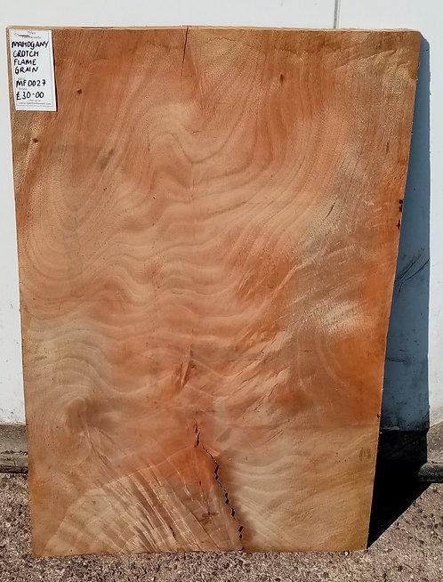 Mahogany Flame Grain Board MF0027